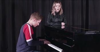 Teens Sing Acoustic Rendition Of 'No Longer Slaves'