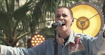 'Hosanna' - Hillsong United On The Steps On The Temple Mount
