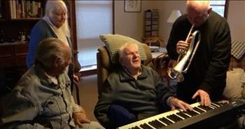 95-Year-Old Musician Julian Lee Plays Piano After Suffering Stroke