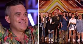 LMA Choir Stuns Judges On X Factor With Performance of This Is Me