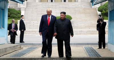 President Trump Becomes First Sitting President to Step Foot in North Korea