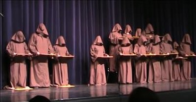 Silent Monks Sing Hallelujah Chorus