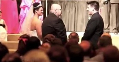 Touching Speech To Groom From Father Of The Bride