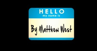 Matthew West - Hello, My Name Is (Lyrics)