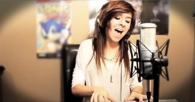 This Girl's Cover of 'In Christ Alone' Will Knock You Down. WOW.