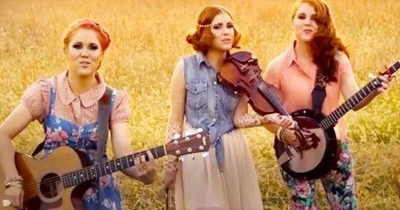 Talented Sisters Sing Why 'You Can't Smooth Talk A Christian Country Girl'