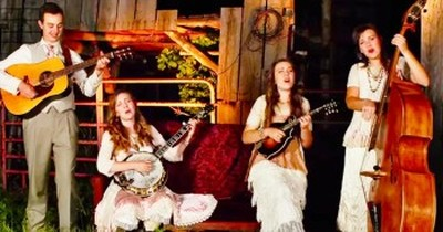 Southern Raised Bluegrass Perform OUTSTANDING Original 'He Came Looking For Me'