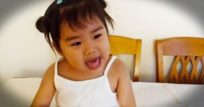 This Adorable 2-Year-Old Knows How To Praise God! At 1:05, I Was Yellin' AMEN!