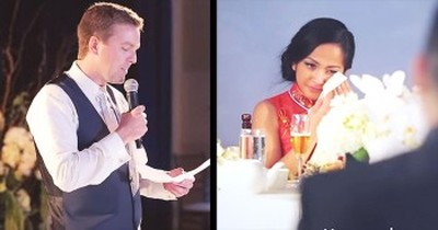 This Best Man's Speech Just Got Interrupted. But You'll Be So GLAD When You See WHY!