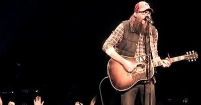 David Crowder Performing Here's My Heart