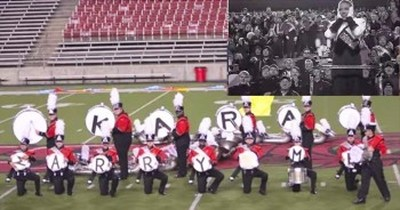 This Unsuspecting Conductor Gets A Surprise Proposal During Band Practice
