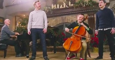 Piano Guys And Peter Hollens Sing Christmas Hymn With World's Largest Nativity