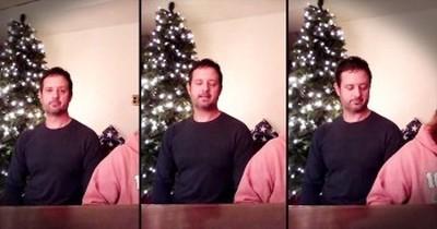 Man Sings Heartfelt Original - 'Daddy, I Pray For You'