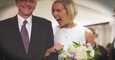 Man Surprises Fiancée With Picture-Perfect Wedding