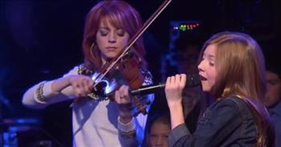Lexi Walker And Lindsey Stirling Perform 'I Know My Redeemer Lives' Easter Hymn
