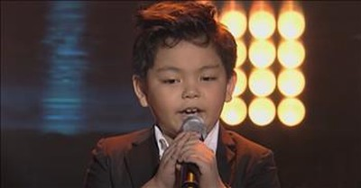 Boy Turns All The Judges In Seconds With 'Don't Stop Believin' Audition