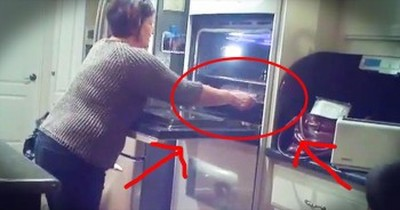 Grandmother-To-Be Discovers THIS In Her Oven