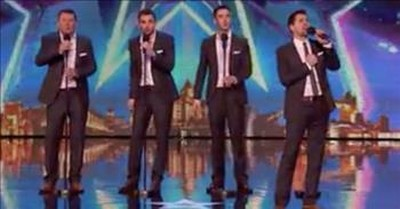 Dad And 3 Sons Inspire With Britain's Got Talent Singing Audition