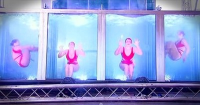 Synchronized Swimmers Even Stun SIMON With This Amazing Audition