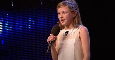 10-Year-Old Earns Standing Ovation With Sweet Rendition Of 'Somewhere Over The Rainbow'