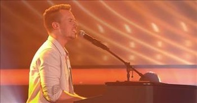 Man Blows Judges Away With Worship Song Audition