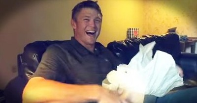 Men Find Out They Are Going To Be Dads