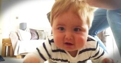 Uncle Reenacts Superman Flying Scene With Baby Nephew