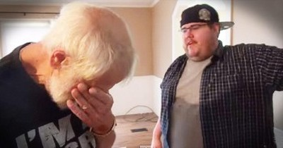 Son Surprises Father With A New House