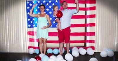 Missionaries' Baby Bump Time Lapse Is Beyond Adorable