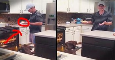 Husband Is Hilariously Confused By Wife's Pregnancy Announcement