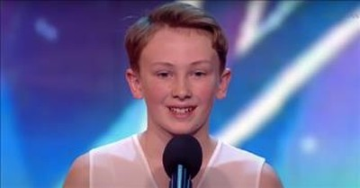 Bullied Ballet Dancer Leaves The Judges In Awe On BGT