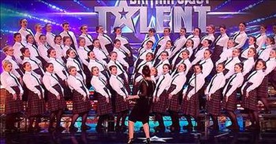 Irish Choir Leaves The Judges On Their Feet With Talented Audition