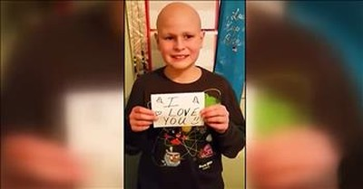 12-Year-Old Cancer Fighters Fall In Love