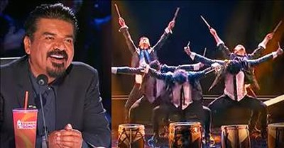 Talented Drum And Dance Audition Leads To Golden Buzzer Moment