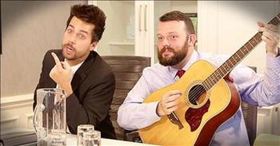 Christian Comedian John Crist Imagines How Worship Music Gets Made