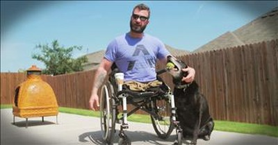 Marine's Friendship With Former Football Star Saves His Life