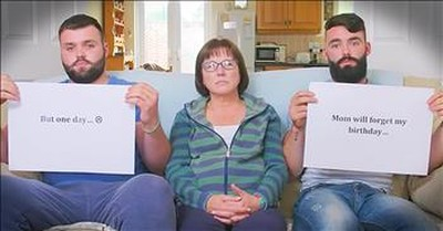2 Sons Make Notecard Testimony For Mother With Alzheimer's