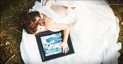 4-Year-Old Wears Late Mother's Wedding Dress