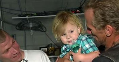 Surprise Squad Helps A Struggling Dad Reunite With His Son After Almost 28 Years