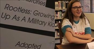The Human Library Allows Students To 'Check Out' A Person To Learn Their Story