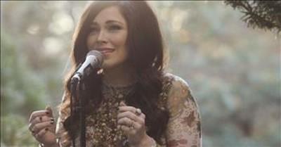 Pray With Kari Jobe As She Sings 'The Garden'