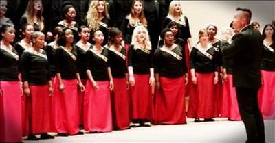Amazing Choir A Cappella Performance Of Pentatonix Arrangement Of 'Say Something'