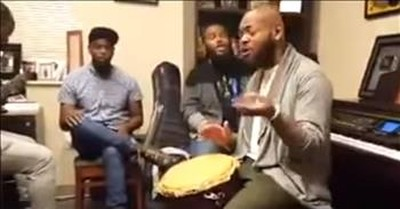 Trey McLaughlin And Friends Vocally Astound With 'Good Good Father'