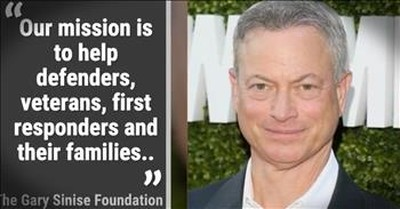 Actor Gary Sinise Dedicates Life To Helping Veterans