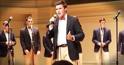 Gentlemen Group Performs A Cappella Disney Medley