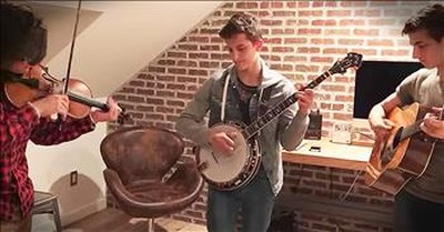 3 Bluegrass Brothers Jam In Their Bedroom