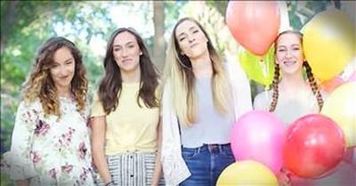 The Gardiner Sisters Sing 'Walking On Sunshine'
