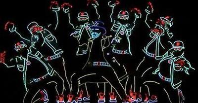 Light Up Dance Routine Earns Golden Buzzer