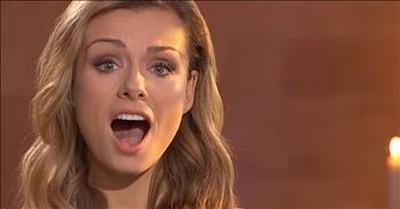Opera Singer Katherine Jenkins Sings 'Jerusalem'