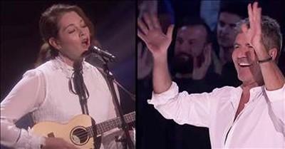 Deaf Musician Sings Original Song On Talent Show